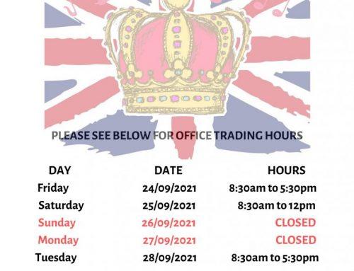 Queen's Birthday Public Holiday 2021